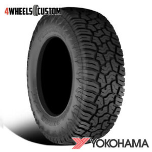 1 X New Yokohama Geolander X at 35x12 50r17 121q E Tires