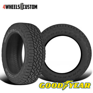 2 X New Goodyear Wrangler Trailrunner At 31 10 5r15 109r Precise Traction Tire