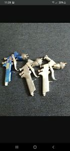 3 Devilbiss Spray Guns Gti Plus1 3 1 Gti 1 8 1 Gti 1 5