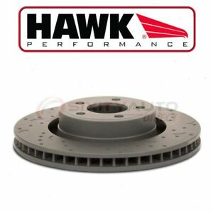 Hawk Front Disc Brake Rotor For 2005 2014 Ford Mustang 3 7l 4 6l V6 V8 Fk