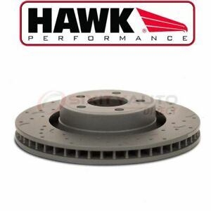 Hawk Rear Disc Brake Rotor For 2005 2014 Ford Mustang 3 7l 4 0l 4 6l 5 0l V6 Jd