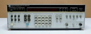 Hewlett Packard 3325a Synthesizer function Generator Does Not Work read