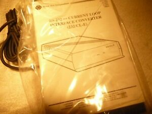 Interface Converter black Box 232 cl e Rs 232 Current Loop Cl0 50a