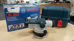 Bosch Gol26 Automatic Optical Level With 26x Magnification Power Lens Pre owned