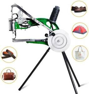 Durable Hand Cobbler Leather nylon cotton Manual Line Sewing Shoe Repair Machine