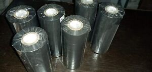Hot Stamping Foil Roll Black Coding Ribbons Printing Expiry Date 20 Pcs 30 Mm