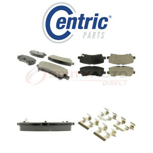 Centric Posi Quiet Ceramic Brake Pads W Shims For 2015 2018 Ford Mustang Lk