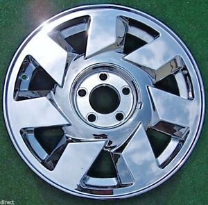 Chrome Cadillac Deville Dts Oem Factory Style 17 Inch Wheel 4553 2000 2001 2002