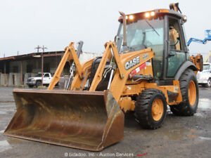 2012 Case 580 Super N 4wd Backhoe Loader A c Cab 4x4 E stick 580sn Bidadoo