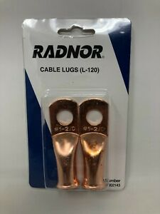 Radnor Model L 120 Solder Type Cable Lug For 1 2 0 Cable pack Of 2