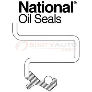 National Auto Transmission Oil Pump Seal For 2006 2009 Pontiac Solstice 2 0l Uv
