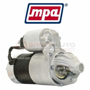 Mpa Starter Motor For 1990 1991 Dodge Ram 50 Electrical Charging Starting Wa