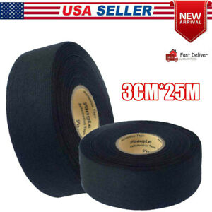 Wire Harness Tape Adhesive Wiring Loom 3cm 25m Cloth Fabric Tape Cable Looms