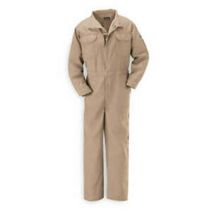 Bulwark Nomex r Iiia Flame resistant Coverall Size L Color Tan Cnb2tn Rg