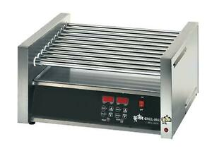 Star 30sce Chrome Plated Electronic Control 30 Hot Dog Roller Grill