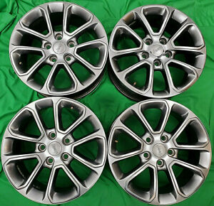 2011 2018 Jeep Grand Cherokee Factory Original Oem 18 Alloy Wheels Rims 9136