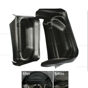 Fit For 14 19 Chevy Silverado 1500 2500 Rear Wheel Well Liners Guard Mud Flaps