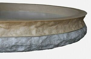 Stone Master Molds Chiseled Edge Concrete Countertop Edge Form Liner 10 x2 5