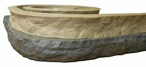 Stone Master Molds Chiseled Edge Concrete Countertop Edge Form Liner 10 x3