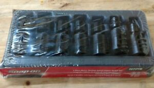 New Snap On 7pc 3 8 Dr Metric Shallow Impact Swivel Socket Set 207ipfm 10 18mm