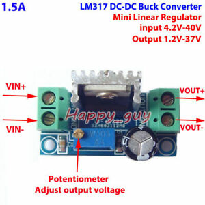 Dc dc 5 40v To 3 3v 5v 9v 12v 24v Buck Step Down Converter Volt Linear Regulator