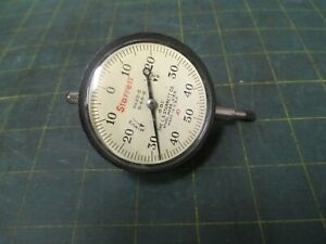 Machinist Tools Starrett Dial Indicator 25 c 0 50 0 001