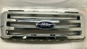 2007 2014 Ford Expedition Oem Chrome Grille