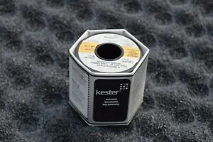 New Roll Kester Solder 66 285 Rosin Flux Sn63pb37 015 40mm 1 lb