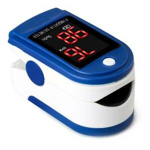 Fingertip Pulse Spo2 Oximeter Blood Oxygen Heart Rate Pr Finger Test Monitor
