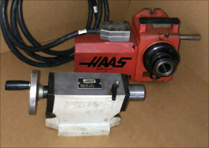 Haas 5c Collet 4th Axis Rotary Indexer W Hts4 Tailstock