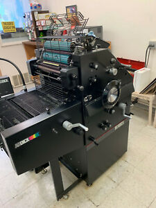Ab Dick 9810 Xcs 2 Color Offset Press
