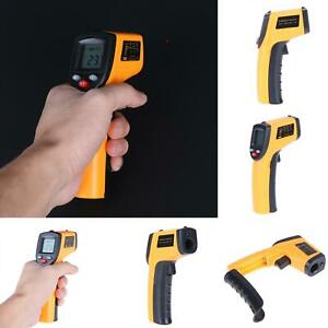 Digital Non contact Lcd Pyrometer Ir Laser Infrared Temperature Thermometer Gun