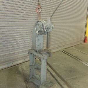 5 Ton Royersford Ratchet Style Arbor Press Model 3 1 2r Made In The Usa