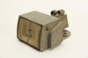 Vintage Car Truck Under Dash Accessory Push Button Switch Ivory Knob Oem Aaca