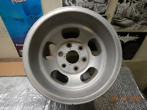 Vintage 6 Lug U S Indy 15x10 Slot Mag Wheel Chevy Gmc Truck 6 On 5 1 2 Datsun