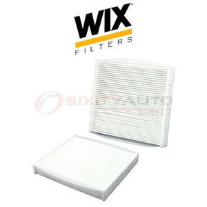 Wix Cabin Air Filter For 2010 2015 Toyota Corolla 1 8l L4 Filtration Zn