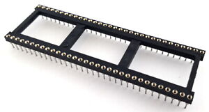 64 Pin Machined Dip Ic Sockets Open Frame Augat 864 ag12d es 4 Pieces