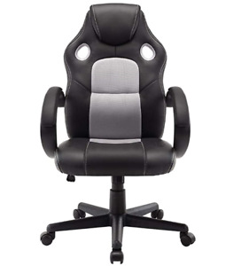 Revolving Furniture Visitor Computer Ergonomic Chair Office With Arms Adjustable