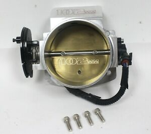 Fast 102mm Big Mouth Billet Aluminum Cable Driven Throttle Body Used