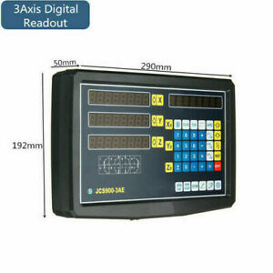 3 Axis Dro Digital Readout Display For Milling Lathe Machine Linear Scales