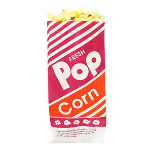 Gold Medal Popcorn Bags 1 Oz 1 000 Ct Red And Yellow Art