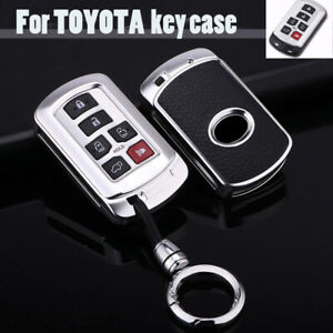 For Toyota Sienna Van Alloy Keyless Entry Remote Smart Key Fob Cover Case Shell