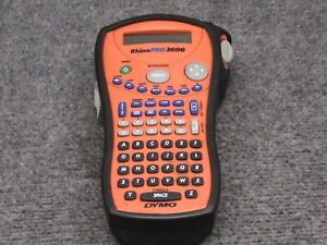 Dymo Rhino Pro 3000 Label Maker Tool W Protective Cover working