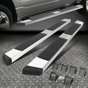 For 09 15 Dodge Ram 1500 2500 3500 Crew Cab 5 Ss Side Step Bar Running Boards