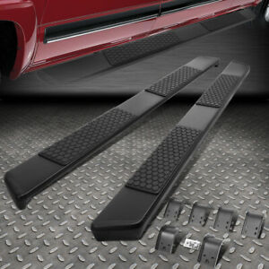 For 09 15 Dodge Ram 1500 2500 3500 Crew Cab 5 Black Ss Step Bar Running Boards