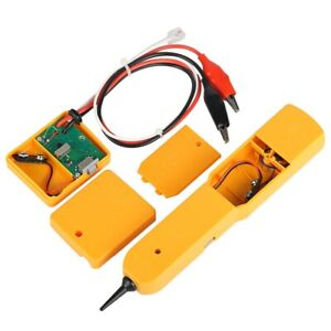 Handheld Telephone Cable Tracker Phone Wire Detector Rj11 Cord Tester Tool Kit