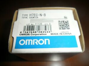 Omron H7ec n b Timer Brand New In Box