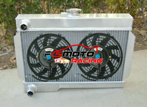 Alu Radiator Fan For Rover Mg Mgb Gt Nib Coupe Base Convertible 1 8l Mt 62 74