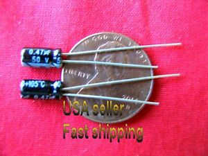 12 Pc 47uf 0 47uf 50v 105c Electrolytic Capacitors