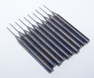 10 80 Carbide Pcb Drills Kyocera Tycom Used